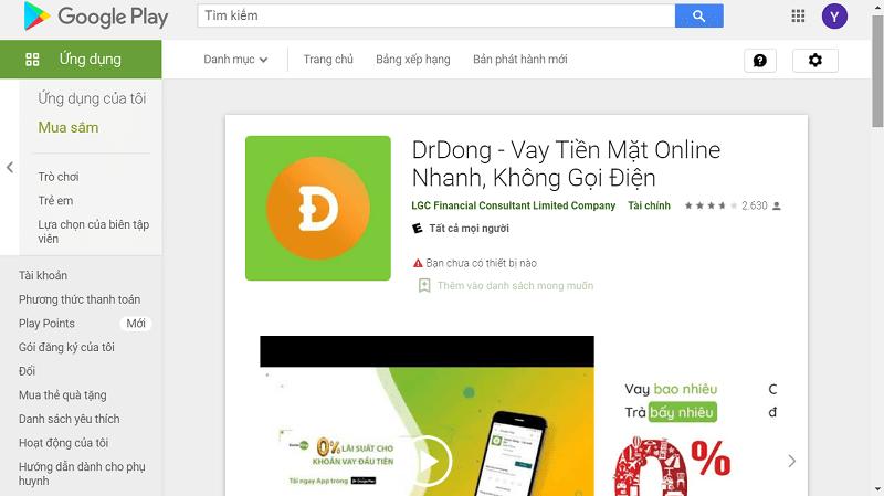 App DrDong hỗ trợ tải miễn phí để khách hàng trải nghiệm dịch vụ mượt mà hơn