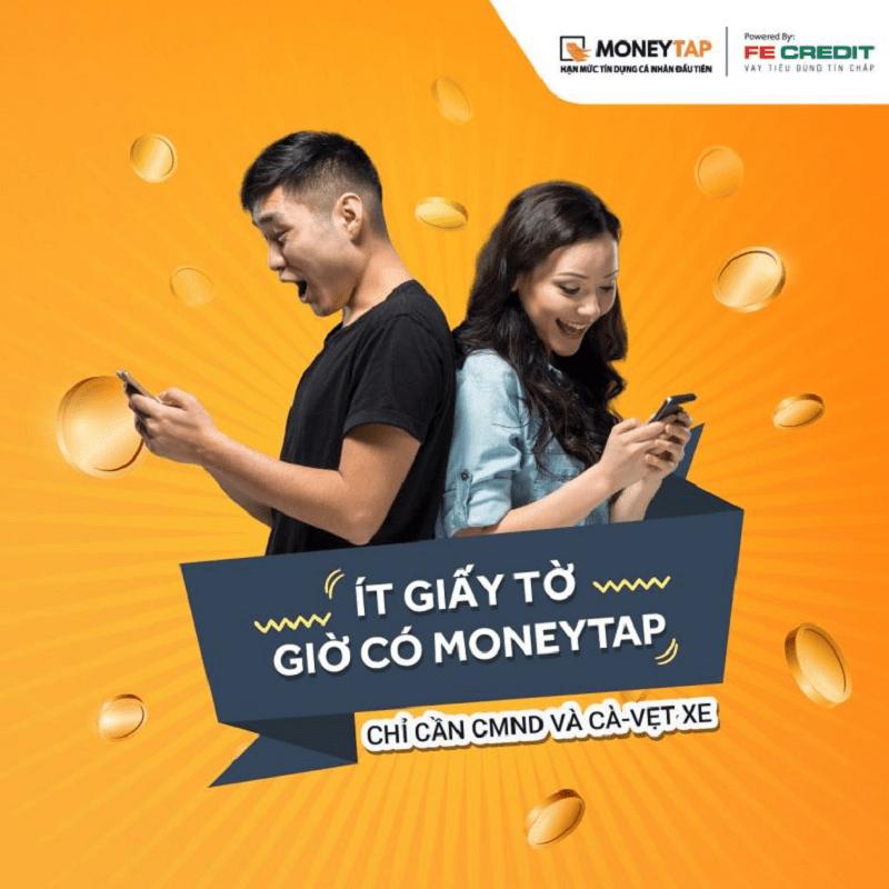 Vay tiền MoneyTap không cần quy trình phức tạp