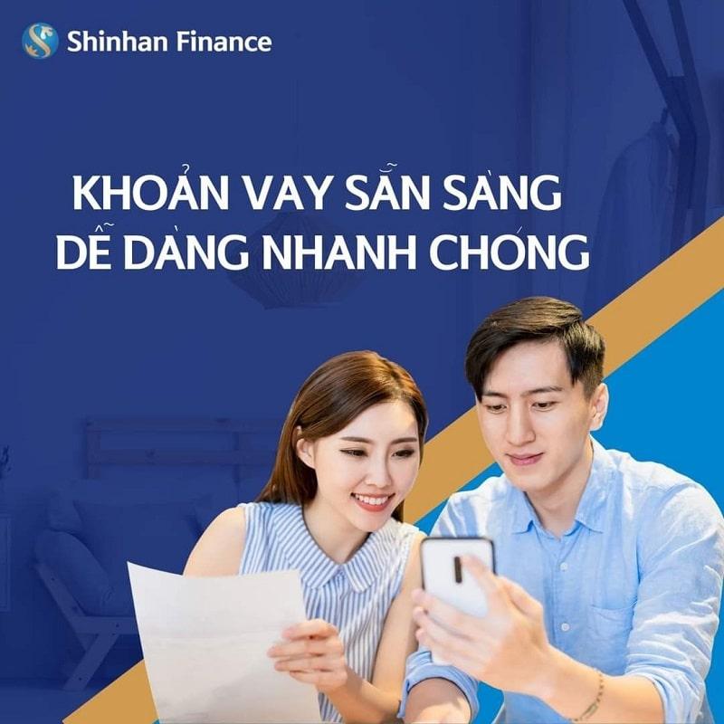 Điều kiện vay Shinhan Finance vô cùng đơn giản