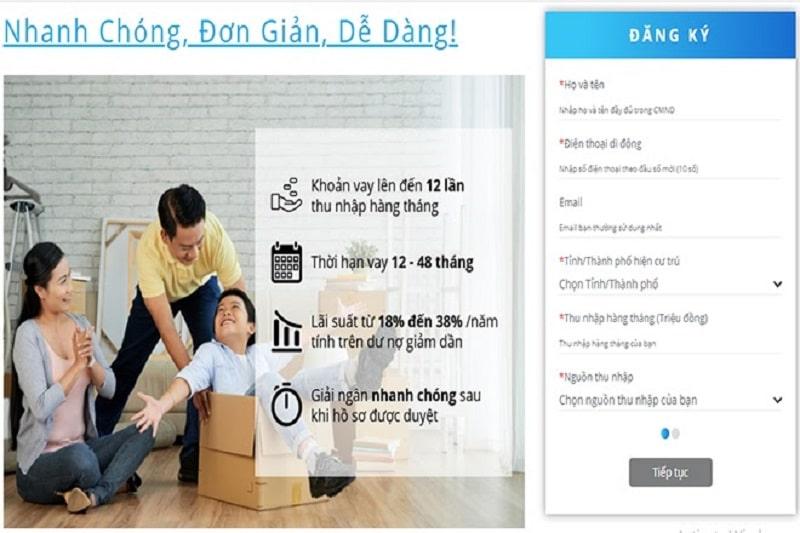 Hướng dẫn chi tiết vay tiền Shinhan Finance Easy Loan