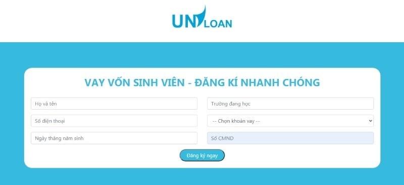 Các bước đăng ký vay vốn Uniloan vô cùng đơn giản