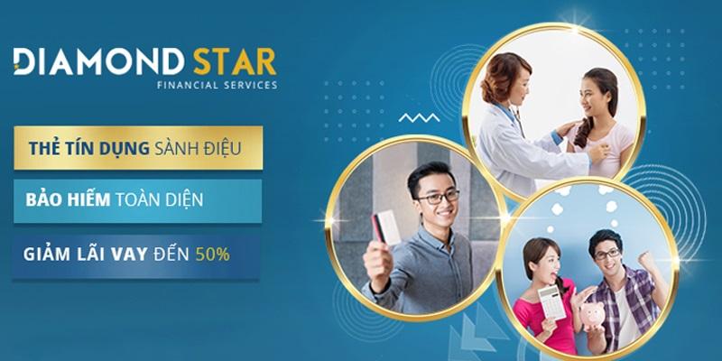 Diamond Star Rainbow hỗ trợ tài chính đa dạng các gói vay