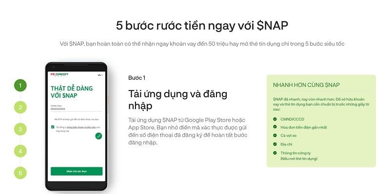 Hướng dẫn đăng ký app FE $NAP đơn giản và nhanh gọn