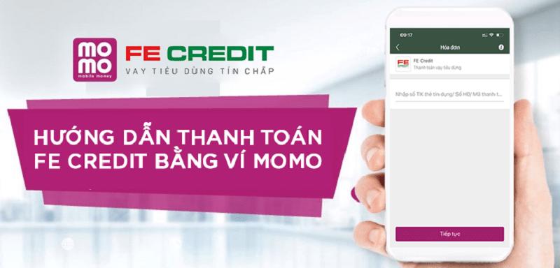 Thanh toán khoản vay nhanh chóng qua ví Momo