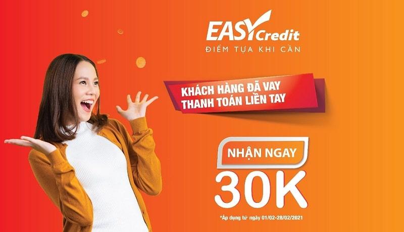 Đôi khi Easy Credit còn mang đến cho khách hàng các chương trình ưu đãi đặc biệt bất ngờ