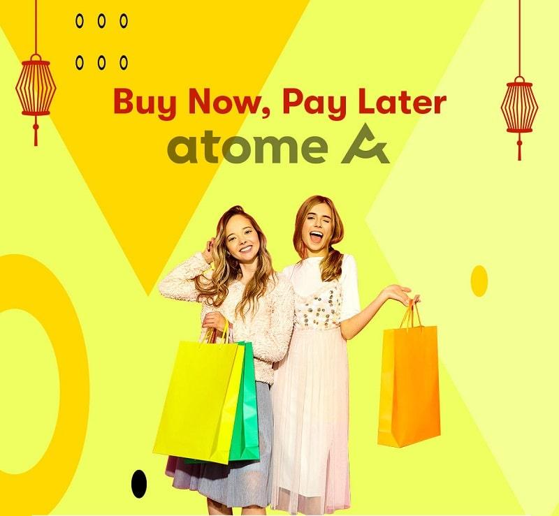 Thỏa sức mua sắm trực tuyến tại ứng dụng Atome