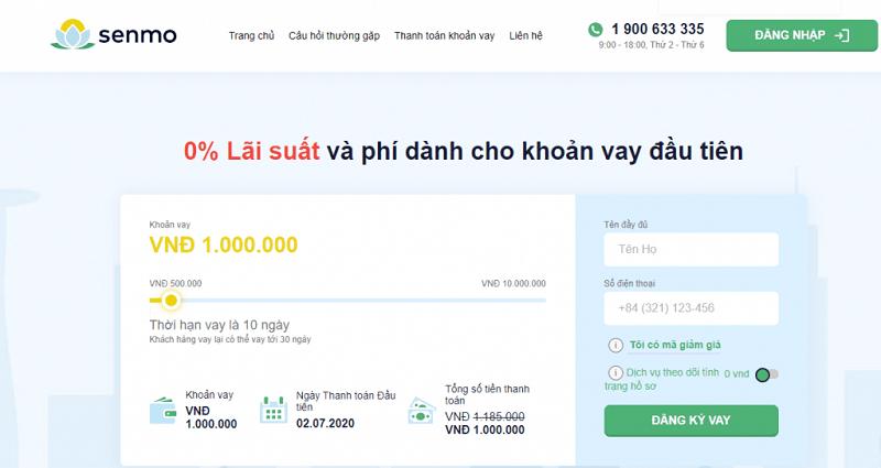 Bạn có thể vay tiền bằng iPhone tại ứng dụng vay online Senmo