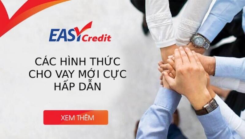 Easy Credit - Vay tiền mặt tiêu dùng